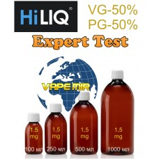 "Никотиновая готовая база ""1,5"" Gold-Expert HILIQ"